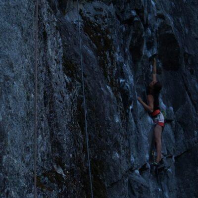 Jedna z letnych popracovnych sessions v Checkamus Canyone.