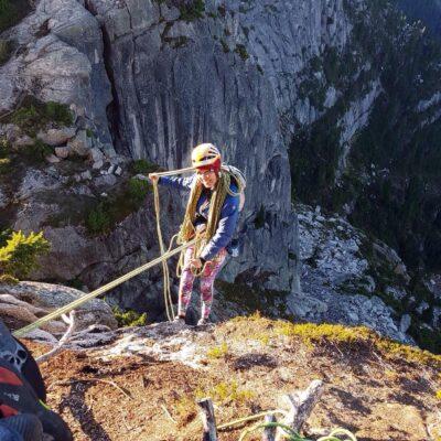 A zlanak z vrcholu Mt. Habrich.